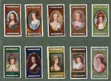 Tobacco cards cigarette cards Miniatures pretty ladies